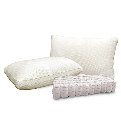 Hilton 希爾頓 地中海渡假村/超舒柔天絲獨立筒枕 @ Y!購物