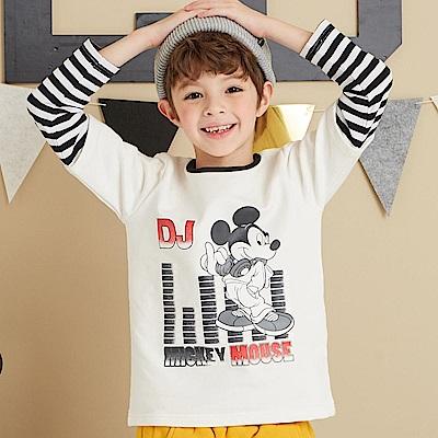 Disney 米奇系列米奇DJ假二件式上衣(共2色)