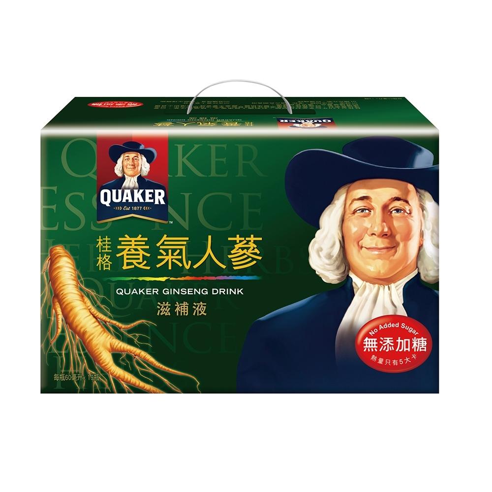 桂格無糖養氣人蔘滋補液60ml×19入 product image 1