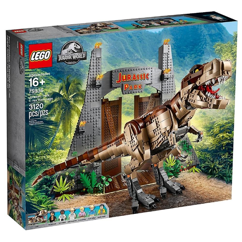 樂高LEGO 侏儸紀世界系列 - LT75936 Jurassic Park:T.rex