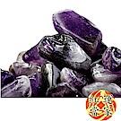 紅運當家 天然開運紫水晶碎石(淨重1000公克.大顆粒)