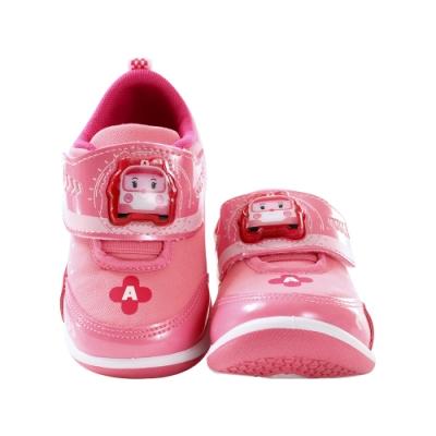 女童台灣製POLI正版安寶款閃燈運動鞋 sa01213 魔法Baby