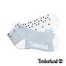 Timberland 女款藍白黑撞色圓點素面兩件組短筒襪|A1ENK
