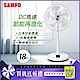SAMPO聲寶 18吋 7段速微電腦遙控DC直流電風扇 SK-FA18DR product thumbnail 1