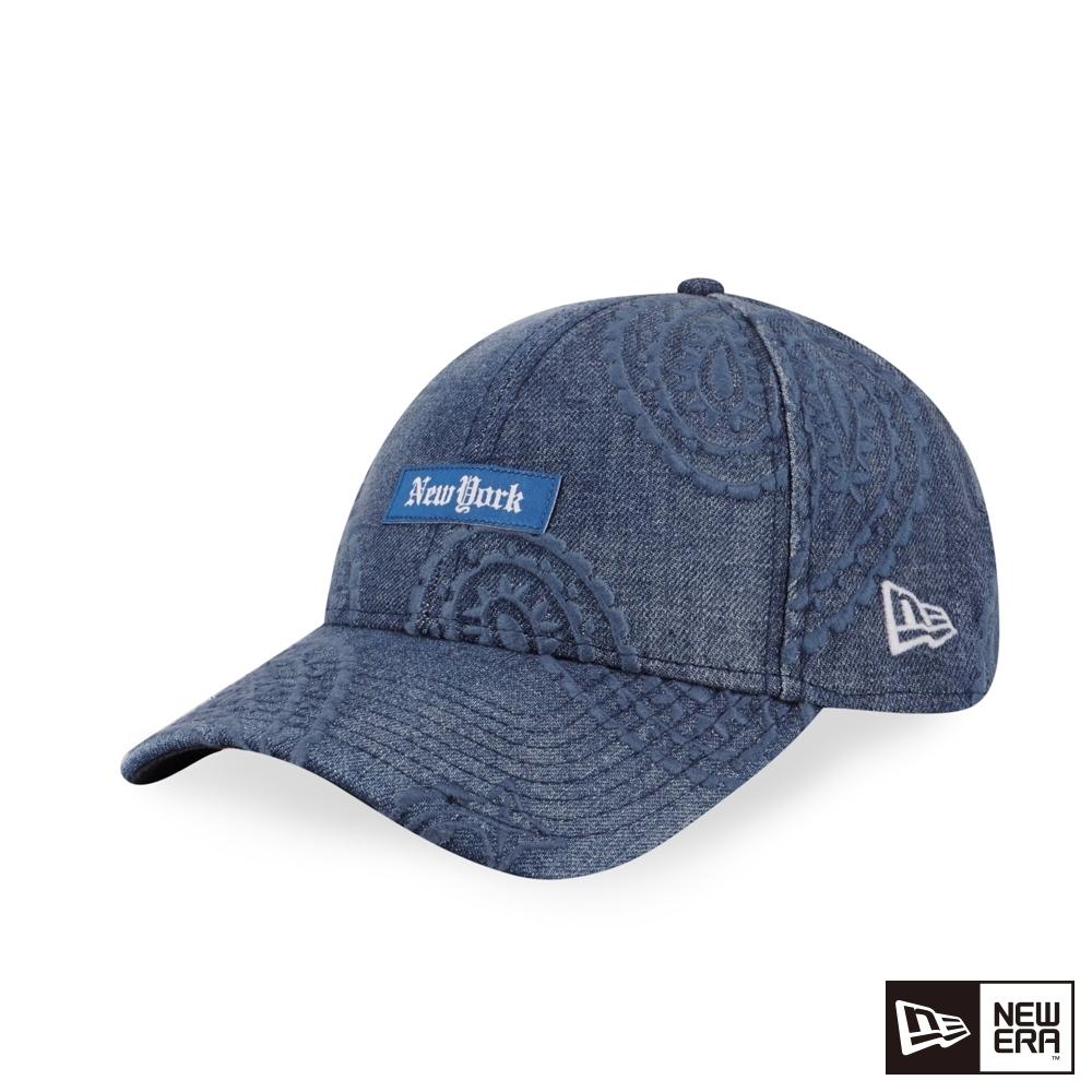 NEW ERA 9FORTY 940 渦紋刺繡 丹寧 棒球帽