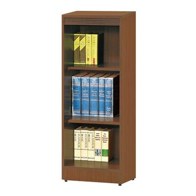 【文創集】強森  時尚1.3尺開放式三格書櫃/收納櫃(二色可選)-39.5x30.3x106cm免組
