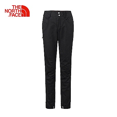 The North Face北面女款黑色舒適耐穿戶外休閒褲