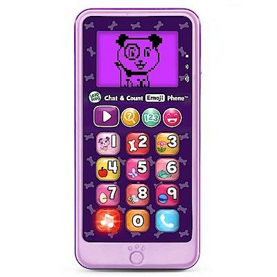 美國LeapFrog跳跳蛙 - 炫光智慧小手機(粉紫)