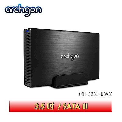 archgon亞齊慷 USB 3.0 3.5吋SATA硬碟外接盒 MH-3231-U3V3
