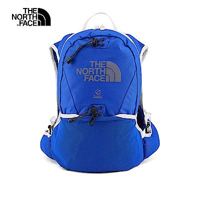 The North Face北面男女款寶藍色輕便專業後背包|3GHX1UZ