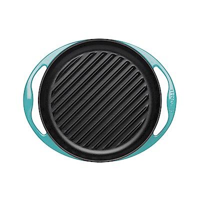 LE CREUSET 琺瑯鑄鐵雙耳圓形烤盤 25cm