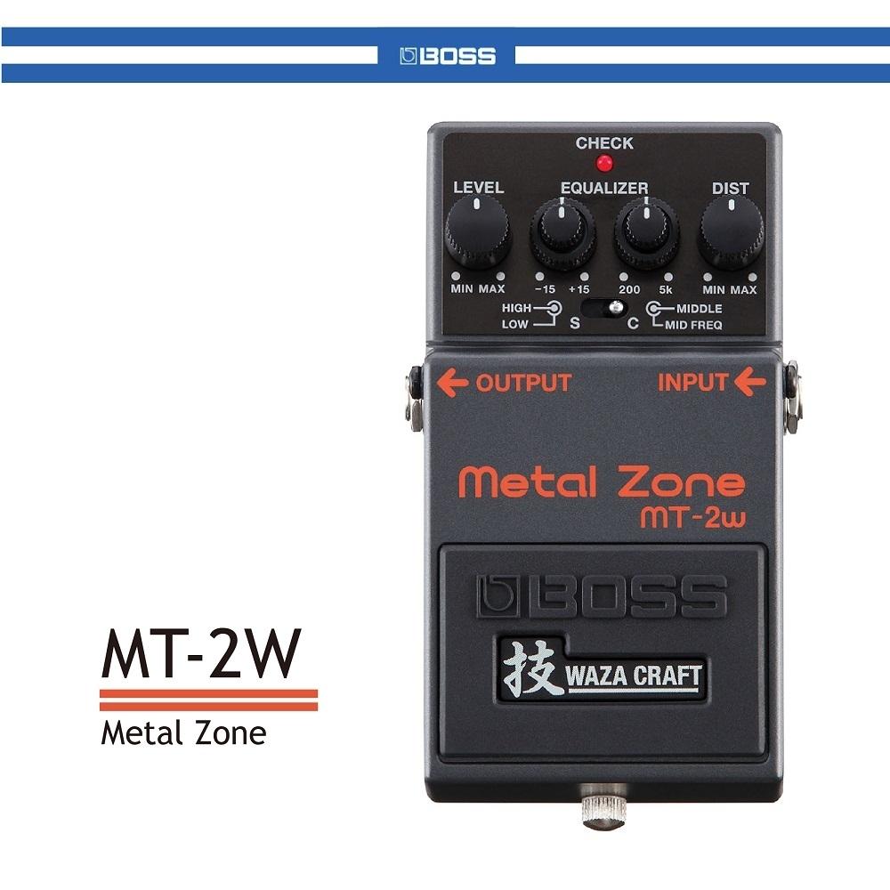 BOSS MT-2W 破音效果器