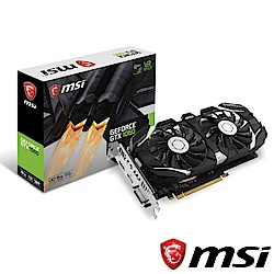 MSI微星 GeForce GTX 1060 6GT OCV1 顯示卡