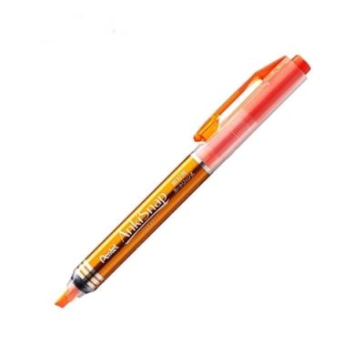 日本Pentel飛龍 剪報筆SMS1-F(橘)螢光筆重點筆記號筆