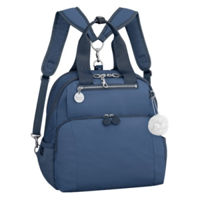 Kanana卡娜娜 背提兩用帆布背包-海軍藍