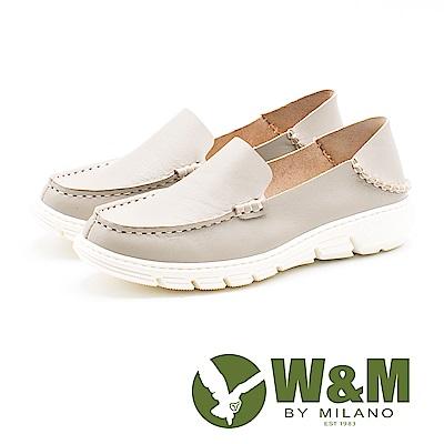 W&M 休閒舒適 百搭便鞋 女鞋-灰(另有藍、粉)