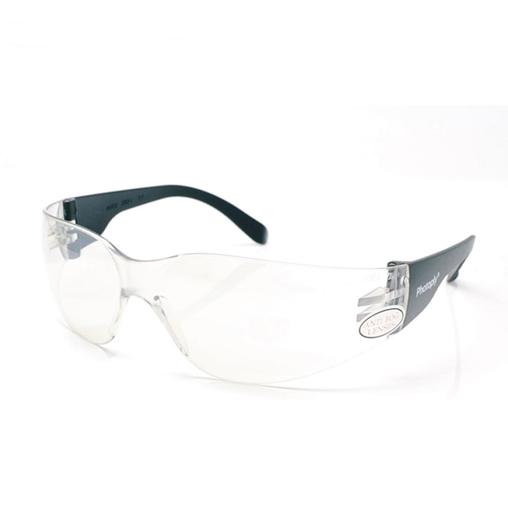 台灣PHOTOPLY貼身安全眼鏡保護目鏡069(合台灣人臉型,近無色透明適白天室內)防飛沬防風眼鏡