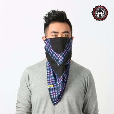 【DREGEN】TS系列-三角巾面罩-藍格詩人