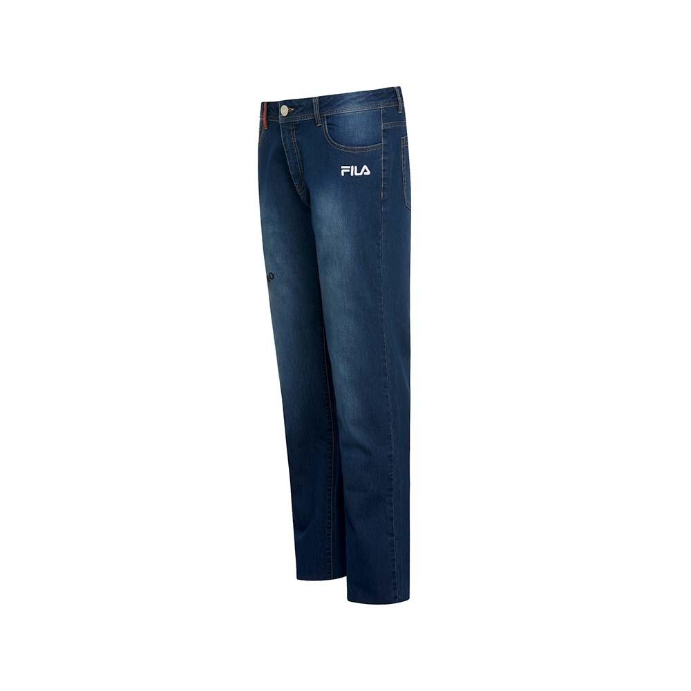 FILA 男牛仔褲-藍色 1PNU-1489-BU