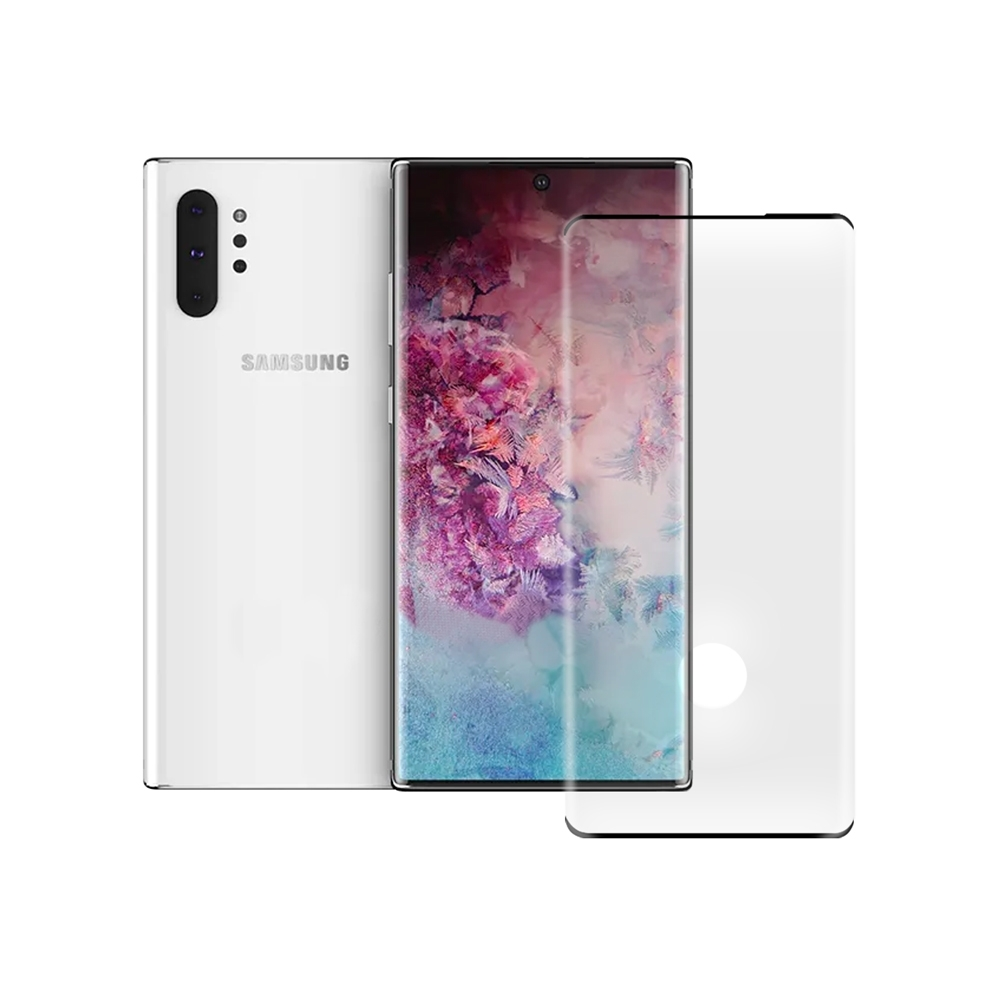 LUCCIDA Samsung Note 10+ 9H防爆玻璃貼【3D滿版】