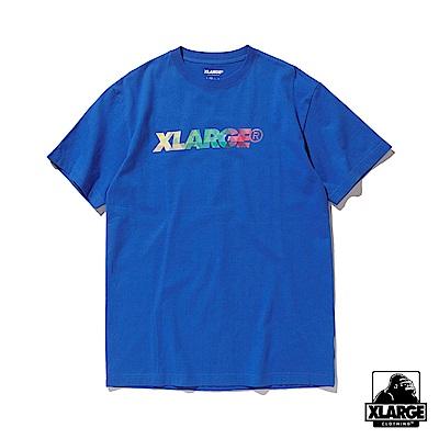 XLARGE SST PRISM STANDARD L 短袖T恤-藍