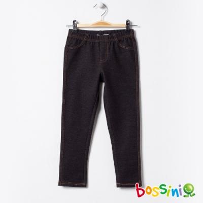 bossini女童-彈性輕鬆褲02黑