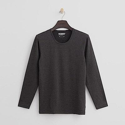 Hang Ten - 男裝 - ThermoContro系列-舒適保暖圓領上衣-灰