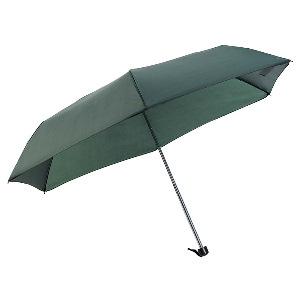樂嫚妮 防水輕量三折傘-綠