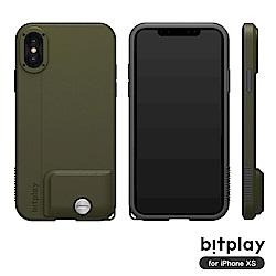 bitplay SNAP! iPhone XS專用 全包覆輕量防摔相機殼 潮軍綠