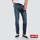 Levis 男款 510 緊身窄管牛仔褲 四向彈性延展 復古刷白