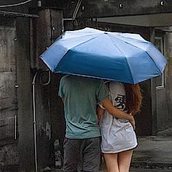 雙龍TDN 降溫防曬抗UV親子雙人自動開收傘(彩色膠)