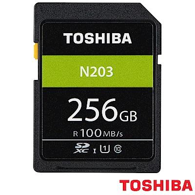 TOSHIBA 東芝 EXCERIA SD SDXC 256GB N203 (公司貨)