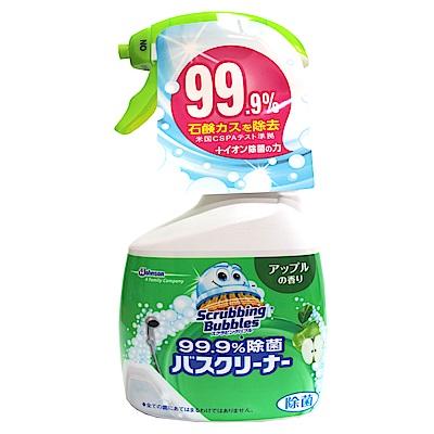 日本JOHNSON石鹼超強清潔劑-蘋果果香(400ml/瓶)