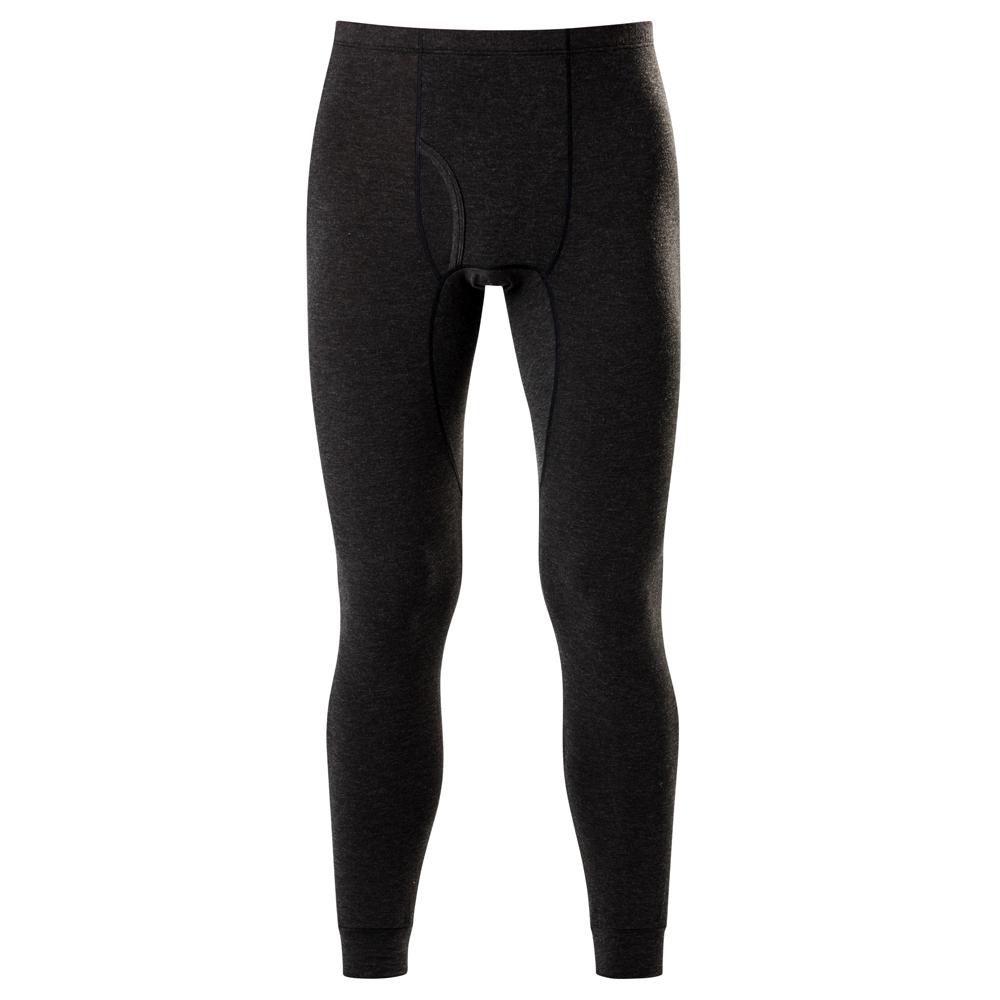 DADADO-極衣恆溫紗素面M-LL 保暖褲(黑)