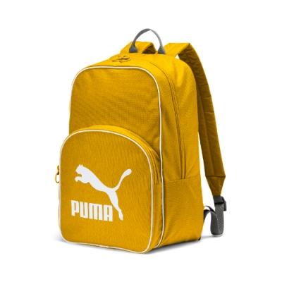 PUMA-男女Puma Originals後背包-硫磺色