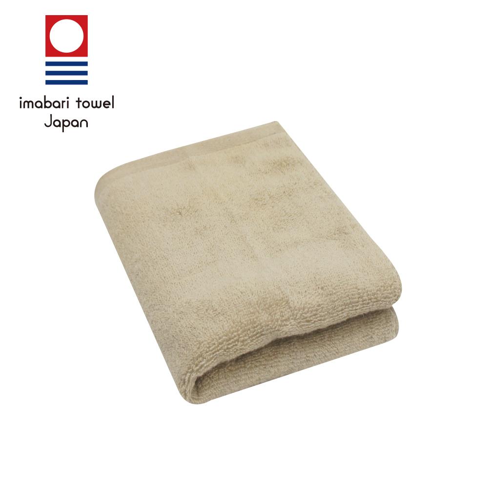 日本今治 輕柔蓬鬆無撚紗素色毛巾(摩卡咖)