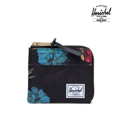 【Herschel】Johnny 零錢包-復古花卉