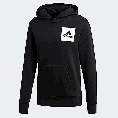 adidas 帽T ESS Logo Hoodie 運動休閒 男款