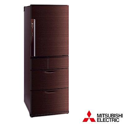 MITSUBISHI-三菱525L變頻五門電冰箱