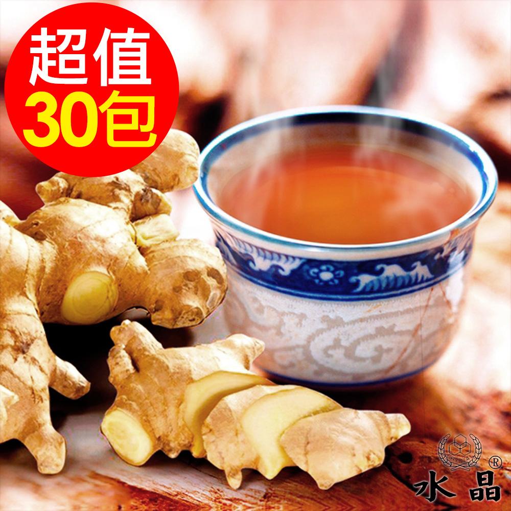 水晶 黑糖薑茶包6袋(5包/袋,共30包)