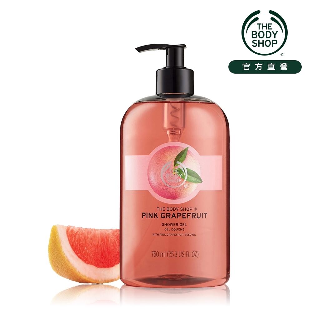 The Body Shop 粉紅葡萄柚活力沐浴膠-750ML