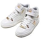 [時時樂限定]DADA SHOTCALLER高筒運動鞋-女-白金/黑金
