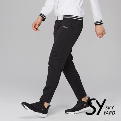 【SKY YARD 天空花園】彈性運動長褲-黑色