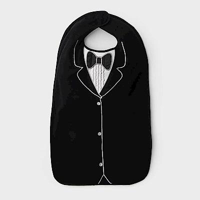 美國Frenchie MC 黑色燕尾服成人防水圍兜禮盒