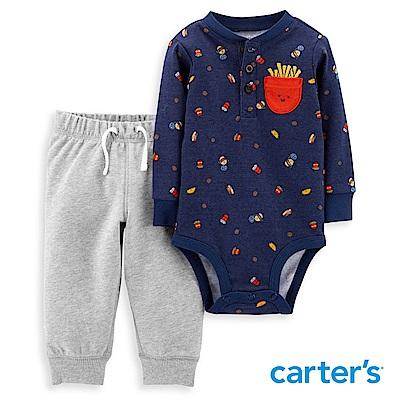 Carter's 薯條印圖2件組套裝