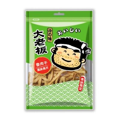 大老板 魯肉干風味魚片80g