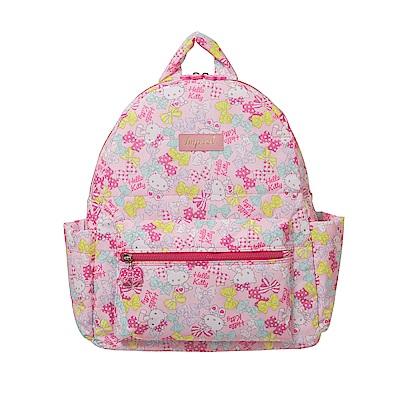 【IMPACT】粉彩愛心凱蒂-後背包(L)#粉紅 IMKTM003PK