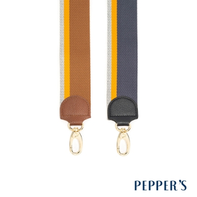 PEPPER S Wisdom 編織金蔥長背帶 - 2色