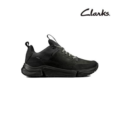 Clarks   三瓣工藝  Tri Path Walk  男休閒鞋  黑色拼色  CLM48365SC20