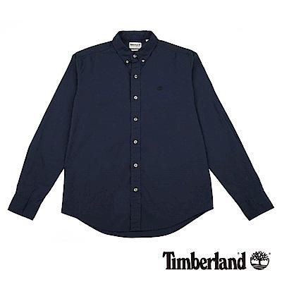 Timberland 男款深藍色長袖TFO 襯衫|A1LSN